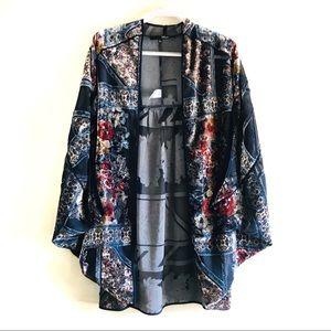 Kimono Style Cover Up Cardi
